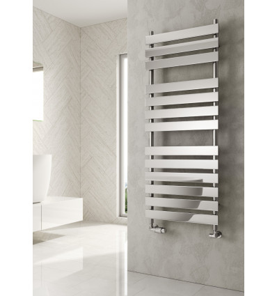 TRENTO CHROME HEATED TOWEL RAIL